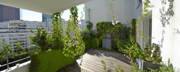 planter une terrasse
